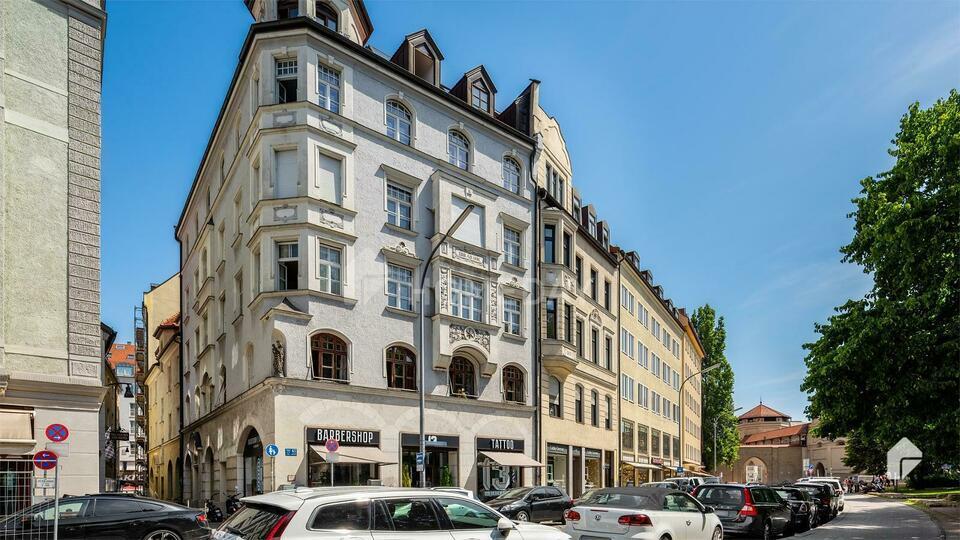 Gut geschnittene 3-Zimmer-Wohnung mit Einbauküche, Tageslichtbad und tollem Ausblick Kirchheim bei München