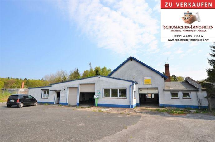 Werkstatt mit großer Bürofläche - direkt an der B 105 Bergen auf Rügen