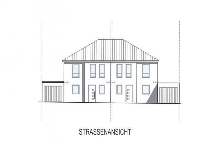 Doppelhaushälfte als Neubauvorhaben Bergen auf Rügen