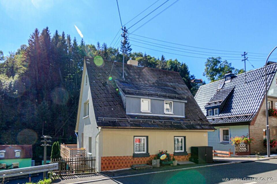 Klein aber fein - top saniertes Einfamilienhaus Schwarzenbach am Wald