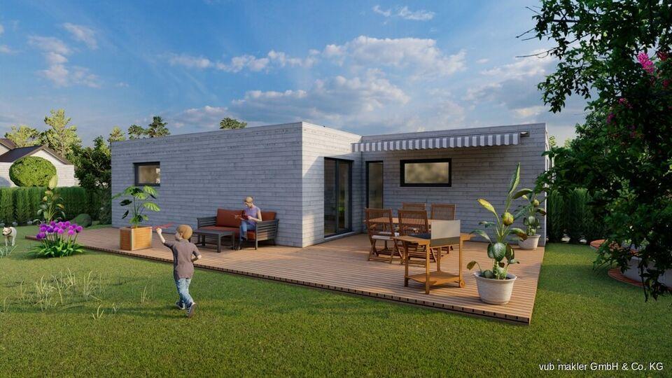 NEUBAU Bungalow - Grundstück und einzugsfertiges Haus inklusive! Helmbrechts