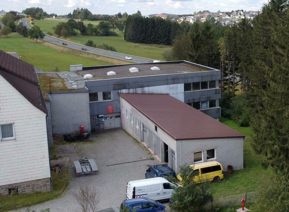 Gewerbeimmobilie mit guter Verkehrsanbindung Schwarzenbach am Wald
