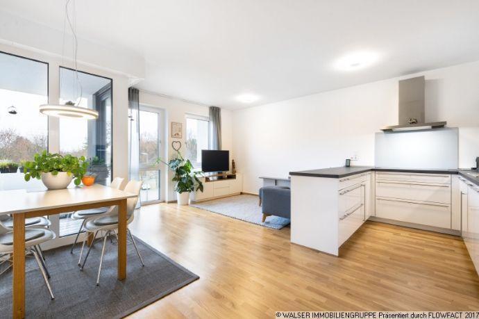 WALSER: Sofort beziehbar: 4-Zimmer-Wohnung mit Balkon in Perlach! Kirchheim bei München