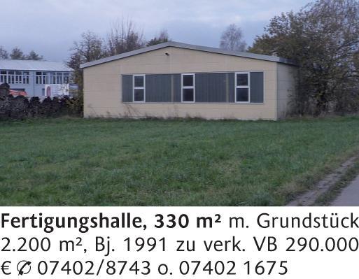 Haus in (78737) 330m² Nordhausen