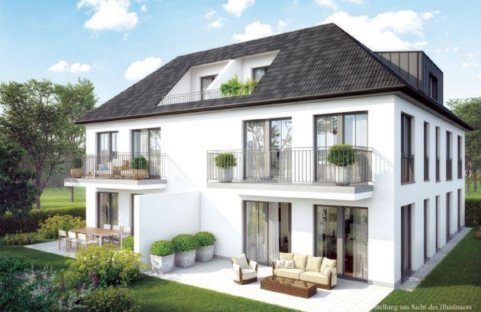 Schönes und ruhiges Wohnen in Untermenzing 4 Zi-EG-Gartenwohnung Wohnung 1 Kirchheim bei München