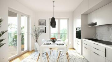 Elegante 3-Zimmer-Wohnung im 5. OG mit zwei Balkonen
