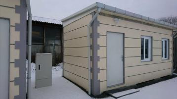 Bürocontainer WC Dusche Küche 3x7 Meter RIESIG NEU B8001-ALEX
