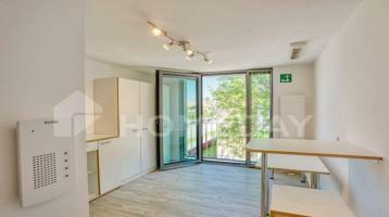 Möbliertes Mikroappartement im 1. OG, ca. 23m² für 380€ (KMM), sehr gute Kapitalanlage