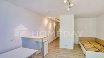 Möbliertes Mikroappartement im 3. OG, ca. 23m² für 380€ (KMM), sehr gute Kapitalanlage