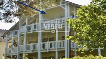 150 m zum Strand - 3-Raum-Wohnung mit überdachtem Balkon