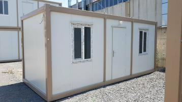 Bürocontainer 2 Zi. WC DUSCHE 3x9 METER RIESIG NEUWARE B3005-3x9