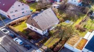 Attraktives Baugrundstück mit Altbestand in begehrter Lage von Allach (S-Bahn-Nähe)