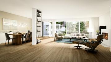 Elegante Neubau-Doppelhausvilla, ruhige Wohnlage, real geteiltes SW-Grundstück!!