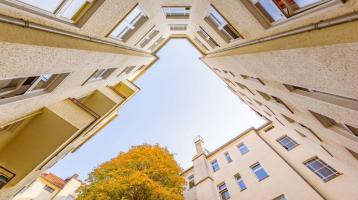 Brüsseler Kiez: 2-Zimmer-Wohnung mit schönem Grundriss und Loggia