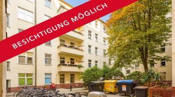 2-Zimmer-Wohnung mit klarem Grundriss und Innenhoflage - ohne Provision