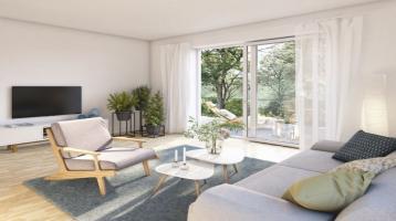 Wohnen am Adelberg / Einzigartige 3-Zimmer-Wohnung mit Garten und Balkon