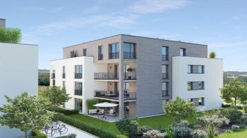 Im Bau: Achern Quartier Glashütte - Schöne 3 Zimmer-Wohnung im modernen Punkthaus 1. BF