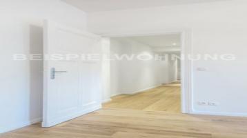 2 Zimmer, Loggia und Abstellraum: Provisionsfreie Wohnung im Brüsseler Kiez
