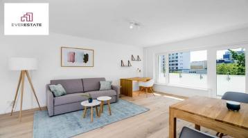 Provisionsfrei: Sanierte 1-Zimmer-Wohnung mit Loggia