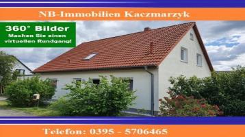 Großes Einfamilienhaus mit Doppelgarage, unweit vom Tollenssee und vom Brodaer Holz
