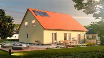 Haus, Terrasse, Garten - daran kann man sich gewöhnen in Bebertal