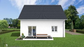 kleines Einfamilienhaus in der Natur