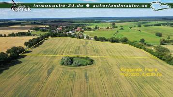 Verkauf Ackerland ca. 6,8 ha in Roggentin, Mecklenburgische Seenplatte