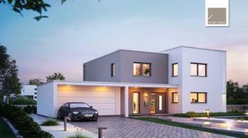 Modernes Bauhaus - massiv gebaut und individuell geplant! (inkl. Grundstück)