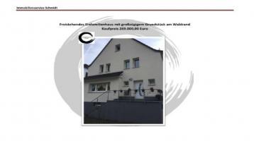 Freistehendes Einfamilienhaus mit großzügigen Grundstück am Waldrand gelegen in Werdohl