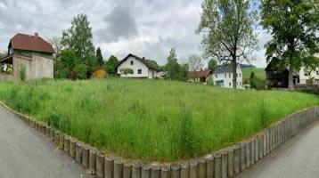herrlich gelegenes Wohnbaugrundstück - vielseitig bebaubar - in Hof / Wölbattendorf