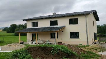 Massivbauweise: Einfamilienhaus mit Satteldach - Projekt. Neubau