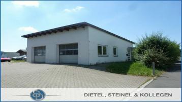 *** KFZ-Werkstatt mit zwei Hebebühnen, kleiner Lagerfläche, Werkstatt-Büro und 2 PKW-Garagen ***