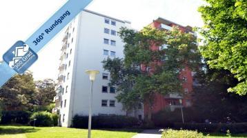Schöne, gut geschnittene Eigentumswohnung mit 3 Räumen mit Blick ins Grüne in Fürstenried!