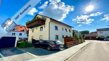 Jetzt online besichtigen! Helle, ruhig gelegene 3-Zi.-DG-Wohnung in zentraler Lage von Dachau