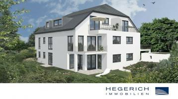 HEGERICH: Sonnige 2-Zimmer-Wohnung mit gemütlichem Garten
