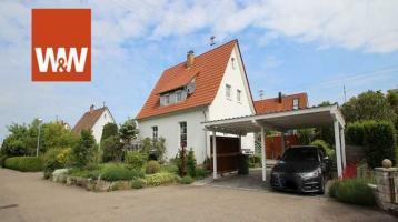 Saniertes Einfamilienhaus mit exklusivem Anbau, idyllischem Garten in Ellwangen