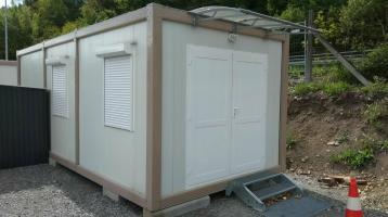 Bürocontainer Wohncontainer 3x7 Meter RIESIG NEUWARE Modell B1003
