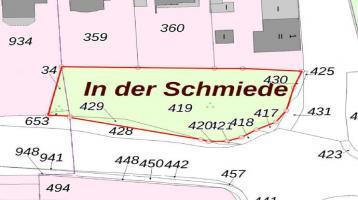 Warstein-Sichtigvor: Großzügiges Baugrundstück im Ortszentrum mit Blick auf das Schloss! #richimmo