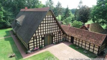 Denkmalgeschützte Fachwerkhofanlage im Artland