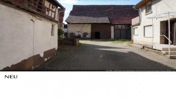 Älteres Haus im Haus mit Scheune, Nebengeb., kleiner Garten in Münzesheim