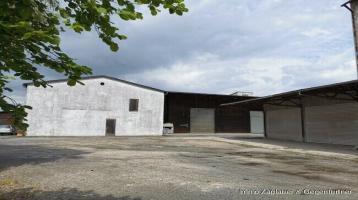 3100 m² Grundstücksfläche mit Lagerhallen und Bürogebäude in Plattling - Stephansposching *****