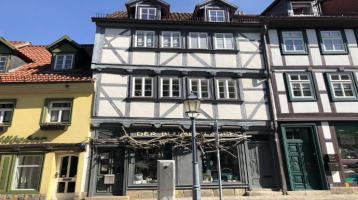 professionell ökologisch saniertes, vermietetes Wohn- und Geschäftshaus (Einzeldenkmal) in 1-A-Lage