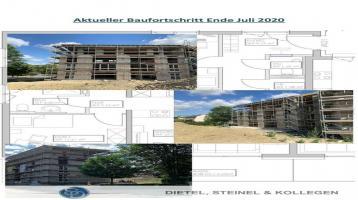 NEUBAU REHAU - moderne EIGENTUMSWOHNUNG - Bezugsfertigstellung 2021 - mit Aufzug von der Tiefgarage bis in die letzte Etage - Im Erdgeschoss: attraktive 4 Zimmer Wohnung mit 86,12 m²