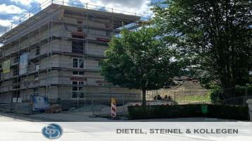 NEUBAU REHAU - moderne EIGENTUMSWOHNUNG - Bezugsfertigstellung 2021 - mit Aufzug von der Tiefgarage bis in die letzte Etage - Im 1. OG: attraktive 2 Zimmer Wohnung mit 70,55 m²