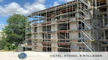 NEUBAU REHAU - moderne EIGENTUMSWOHNUNG - Bezugsfertigstellung 2021 - mit Aufzug von der Tiefgarage bis in die letzte Etage - großzügige 70 m² - 2 Zimmer - Wohnung im 2. OG