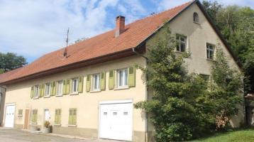 Haus mit Grundstück am Rhein