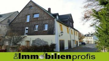 Historisches 1-3 Familien-Stadthaus in Schwarzenbach an der Saale