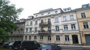 3-Zimmer-ETW mit großem Balkon im Dachgeschoss * saniertes Gründerzeit-Mehrfamilienhaus in Freiberg
