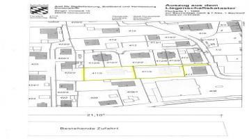 Zwei Einmalig gelegene Grundstücke in Donauwörth mit genehmigtem Bauantrag für zwei EFH