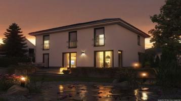 Sie mögen es geradlinig und trotzdem volle Wohnfläche - dann darf unser Flair 152 Ihr Haus werden?